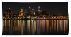 Philly Night Beach Towel