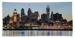 Philly Sunset Beach Towel