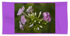 Phlox Beach Towel