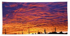 Phoenix Sunrise Beach Towel