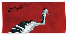 Piano Fun - S01at01 Beach Towel