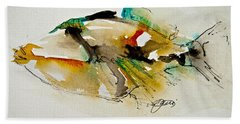 Picasso Trigger Beach Towel by Jani Freimann
