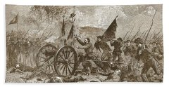 Picketts Charge At Gettysburg Beach Towel