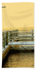 Pier 2  Image A Beach Towel