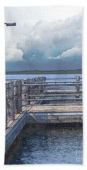 Pier 2 Image C Beach Towel