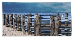 Pier 3 Image C Beach Towel