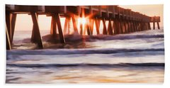 Pier Sunrise Too Beach Sheet