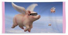 Pigs Fly Beach Sheet