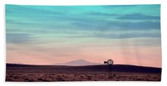 Pikes Peak To Prairie Beach Towel by Clarice  Lakota