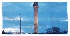 Pilgrim Tower Beach Towel