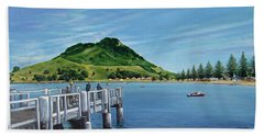 Pilot Bay 280307 Beach Towel by Sylvia Kula