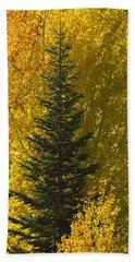 Pine In Aspens Beach Towel