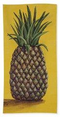 Pineapple 4 Beach Towel