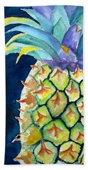 Pineapple Beach Sheet by Carlin Blahnik