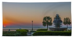 Beach Towel featuring the photograph Dawns Light by Dale Powell