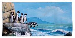 Pinguinos De Humboldt Beach Sheet