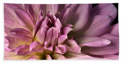 Pink Dahlia's Dream Beach Towel