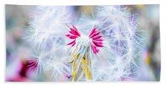 Magic In Pink Beach Sheet by Parker Cunningham