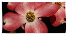 Beach Towel featuring the photograph Pink Dogwood by James C Thomas