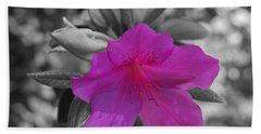Pink Flower 2 Beach Sheet