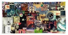 Pink Floyd Collage II Beach Towel