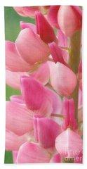 Pink Lupine 974 Beach Sheet