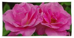 Beach Towel featuring the photograph Pink Passion by James C Thomas