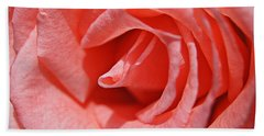 Beach Sheet featuring the photograph Pink Rose by Kathy Churchman