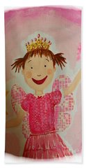 Pinkalicious Beach Towel