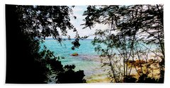 Beach Towel featuring the photograph Picturesque by Amar Sheow