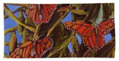 Pismo Monarchs Beach Towel