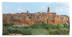 Pitigliano Panorama Beach Towel