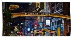 Playhouse Square Beach Towel