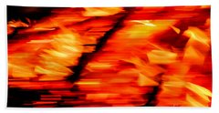 Playing With Fire 2 Beach Towel