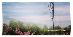 #pleasedontmakemegoinside Beach Towel