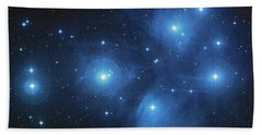 Pleiades - Star System Beach Towel by Absinthe Art By Michelle LeAnn Scott