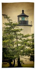 Plum Island Light Beach Towel