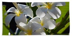 Beach Sheet featuring the photograph Plumeria's IIi by Robert Meanor