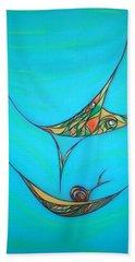Pneuma Beach Sheet by Robert Nickologianis