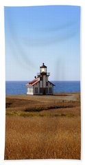 Point Cabrillo Light House Beach Towel
