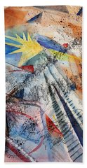 Point Of View Beach Towel