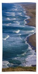 Point Reyes Long Beach Beach Towel