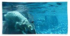 Polar Bear Beach Towel by Steve Karol