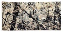 Pollock's Name On Lavendar Mist Beach Towel