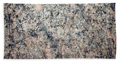 Pollock's Number 1 -- 1950 -- Lavender Mist Beach Sheet by Cora Wandel