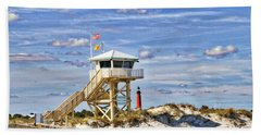 Ponce Inlet Scenic Beach Towel by Alice Gipson