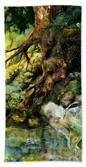 Pond Fairy Beach Towel