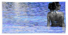 Pool Beach Towel by J Anthony