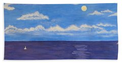 Poornima  Beach Towel by Sonali Gangane