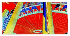 Pop Goes The Pavillion Beach Towel by Ed Weidman
